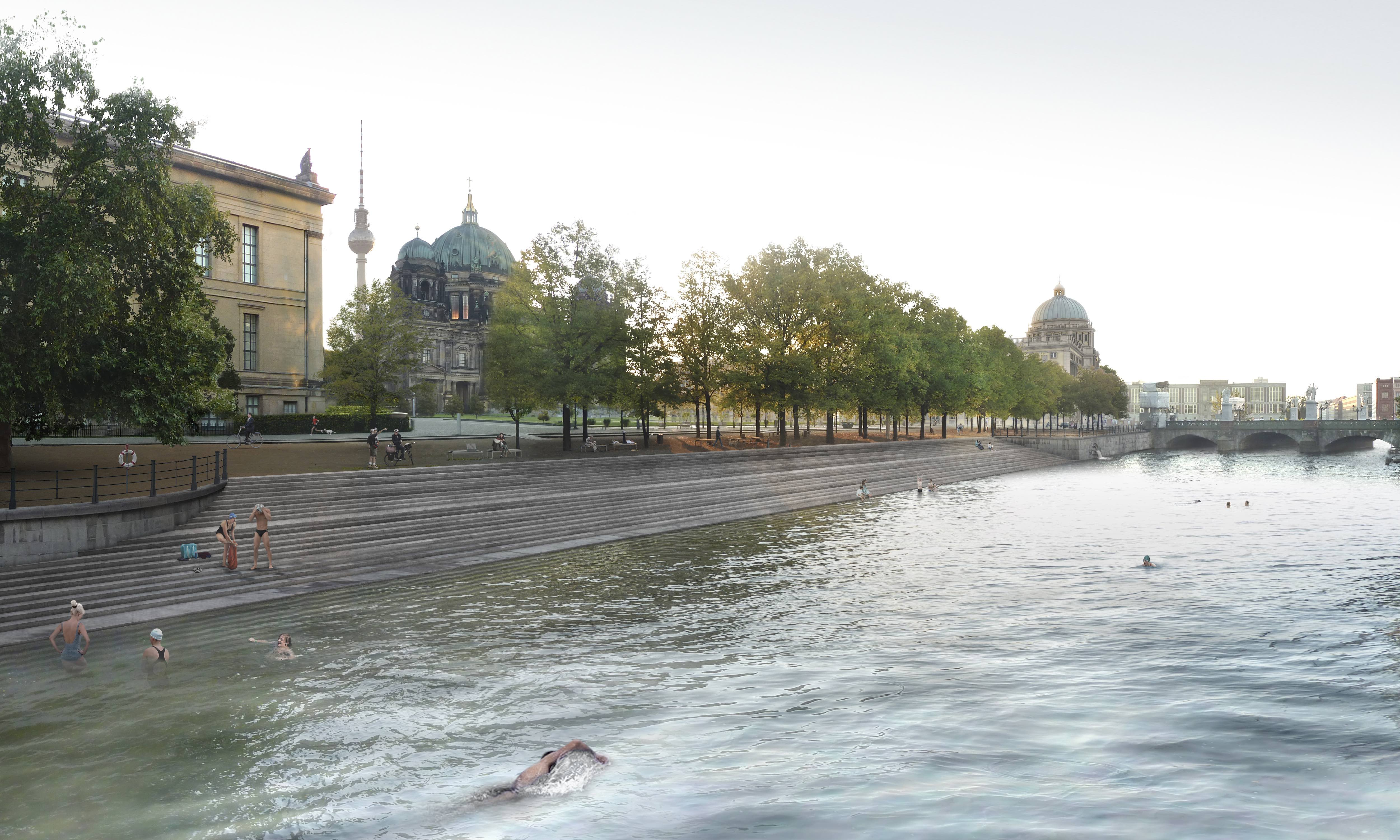 River swimming in Berlin? Now you can.